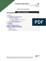 FM GLobal Data Sheet 4-0