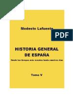 Historia General de EspanA. V_ - Modesto Lafuente