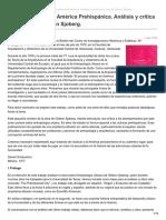 La Urbanización de América Prehispánica. Análisis y crítica de la obra de Gideon Sjoberg - Daniel Schalvelzon