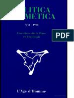 2 - 1988 Doctrines de in Liare El Tradition