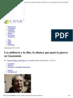 Los militares y la élite, la alianza que ganó la guerra en Guatemala _ CIPER Chile CIPER Chile » Centro de Investigación e Información Periodística.pdf