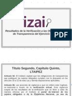 Verificación portales de transparencia Zacatecas 2018