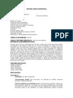 Historia Clínica Psiquiátrica Nª3 Publio