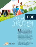 2018 Legislative Scorecard