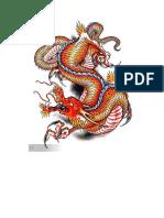 Dragon Tattoo Flash Book