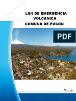 plan de emergencia volcanica pucon