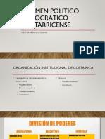 Régimen Político Democrático Costarricense