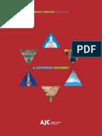 AJC Impact Report (2014-2015)