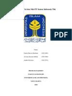 Analisis Visi Dan Misi PT Semen Indonesia Tbk