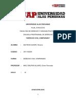 Trabajo Academico Derecho Civil Comparado