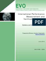IPMVP StatisticsUncertainty 2014