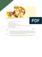 Salada de Batata e Salsicha