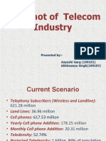 Snapshot of Telecom Ind...11