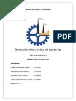Deteccion Electronica de Bacterias