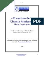 Mario Caponnetto El Camino de La Ciencia Moderna