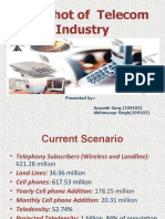Snapshot of Telecom Industry 2010