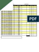 Programme des vols d'Air Calédonie pour le vendredi 20 juillet