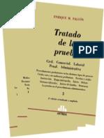 Tratado de La Prueba. Falcon. Tomo 3