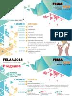 Programa del Felaa