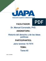 Tarea 2 Historia Del Derecho Jirt