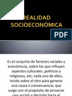 Realidad Socioeconomica