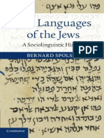 The Languages of the Jews a Sociolinguistic History