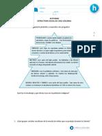 Estructura social y politica de la ColoniaActividades de Aprendizaje 5 Mayo