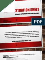Administration Sheet for Dangerous Drugs ward stocks