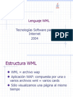 Lenguaje WML - Modulo III (4)