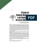 O Ensino de evolução biológica e sua abordagem nos livros didáticos.pdf
