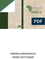 Livro História da África Básico Mapas animados Geografia da Africa - Eliesse Scaramal