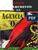 Simenon, Georges - Los Archivos de La Agencia O (Recopilacion) [45213] (r1.0)