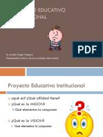 Proyecto Educativo Educacional