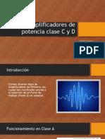 Amplificadores de Clase C exposicion