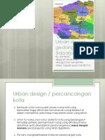 Hasil Urban Design Gedangan, Sidoarjo