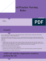 advanced practice nursing roles s kelly