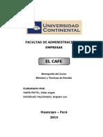 Monografía El Cafe