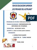Enfermedads Por Deficiencia de Vitaminas Imp. (Carina Pavio Quispe)