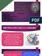 REGÍMENES DE IMPORTACIÓN Y EXPORTACIÓN