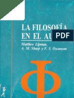 La Filosofia En El Aula - Lipman, Matthew.pdf