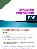 COMPLICACIONES POSTOPERATORIAS.ppt