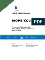 Modul Bio Psikologi [TM1] (1)