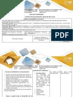 Guía de Actividades y Rubrica de Evaluación-Actividad de Reconocimiento General Del Curso