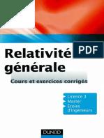 Aurélien Barrau, Julien Grain-Relativité Générale -Dunod (2011)