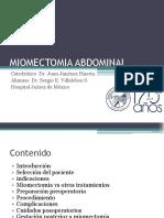 Miomectomia Abierta