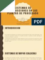 Sistemas de Conducciones en Las Plantas de Procesado[1]