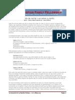 Analogia Del Pastor y Las Ovejas 1ra Parte