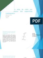 Transferencia Neta de Calor Por Radiación Entre Dos Superficies Cualesquiera [Autoguardado]