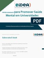 Metodos Para Promover Saúde Mental Em Universidades