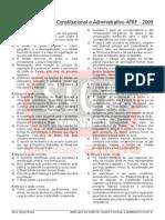 Simulado Direito Constitucional e Administrativo Siga